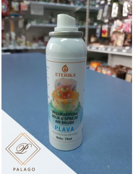 Air brush plava boja 70ml