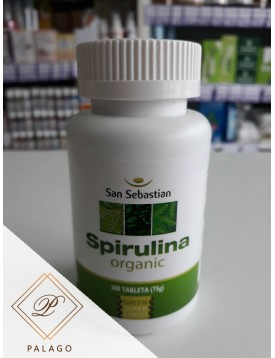SPIRULINA 300 TABLETA